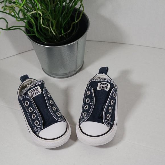 Converse Other - infant Converse Blue Size 5 Velcro 915578c45